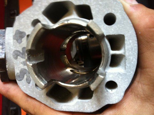 L'embase du cylindre