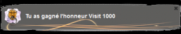 1000 visites !