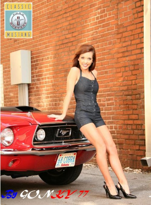 mustang pin up - photo #21