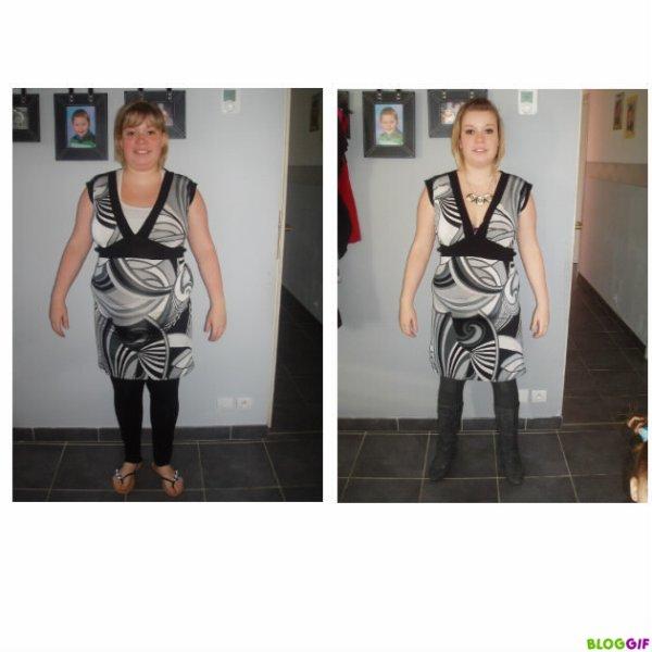 Après 1 mois d'Escalier Nutritionnel {nouveau régime Dukan } Bilan et photos
