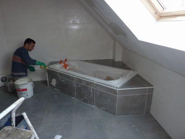 Habillage de la baignoire notre futur chez nous mutzenhouse - Habillage de baignoire ...
