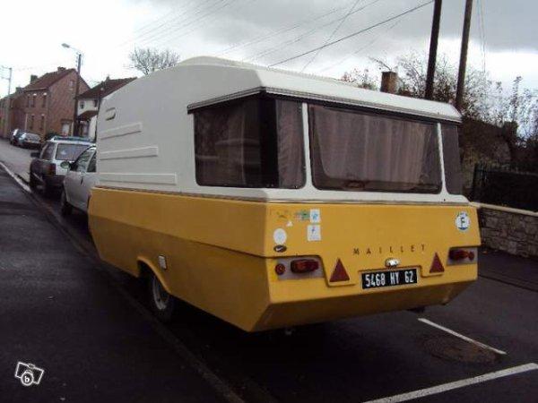 une maillet vue sur leboncoin caravane ode la caravane. Black Bedroom Furniture Sets. Home Design Ideas