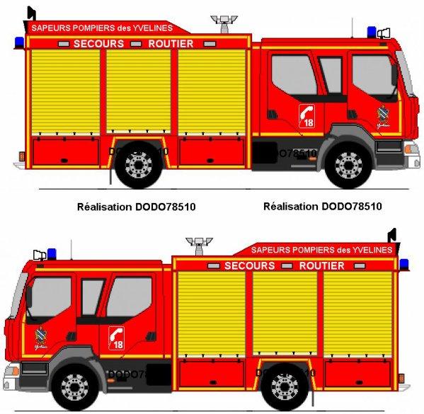 Blog de dodo78510 page 4 v hicules de secours - Dessiner un camion de pompier ...