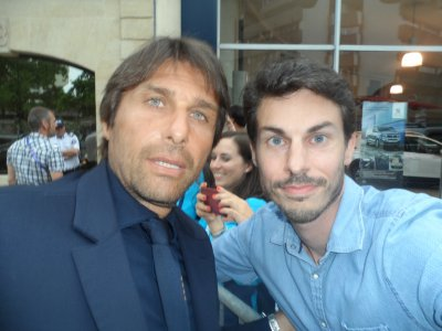 Antonio Conte & Gigi Buffon