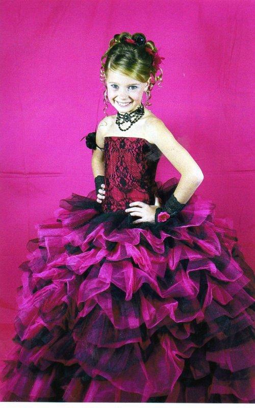 Cat�gorie Mini miss : 8-10 ans
