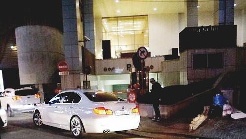 La voiture de TaeMin.