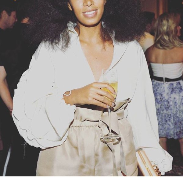 Solange Knowles a la soir�e des CFDA incontournable