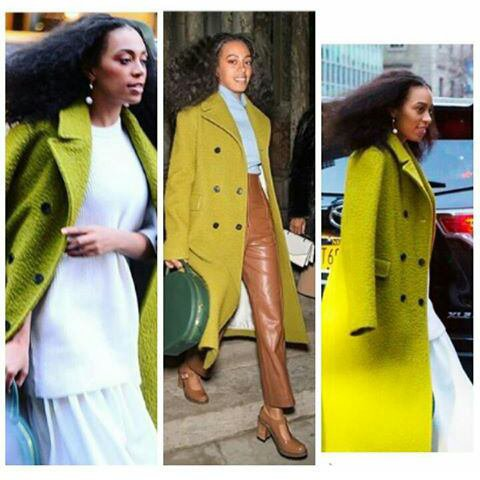 Solange knowles son nouveau style a New york