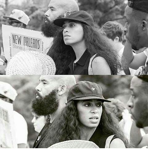 #Blackilivesmatters solange knowles toujours engager dans la lutte contre l injustice americaine