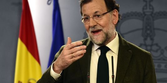 Rajoy annonce un accord pour d�fendre � l'unit� � de l'Espagne face aux ind�pendantistes