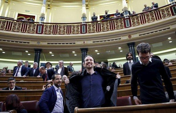 Parlement espagnol nouveaux visages nouveaux look (libération)