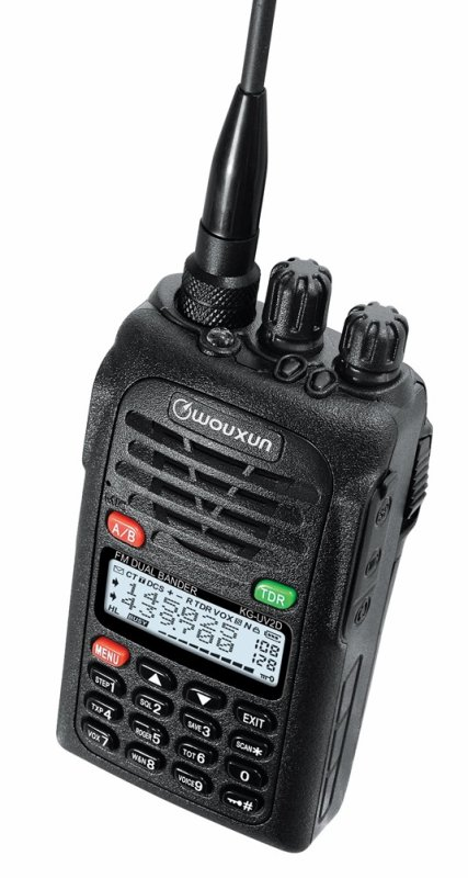 WOUXUN KG-UV2D VHF/UHF Dual Band HT