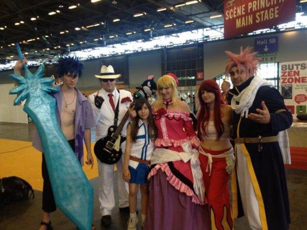 Cosplay de fairy tail  a la japan expo