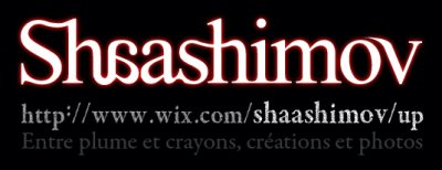 Shaashimov - Entre plume et crayons, cr�ations et photos
