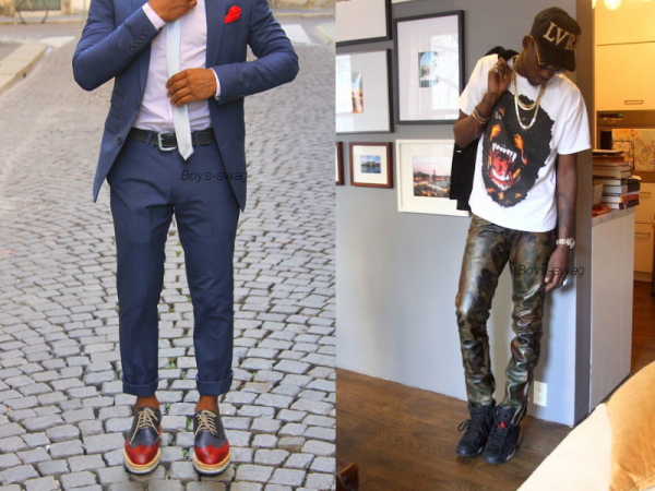 Homme chic ou Swag?