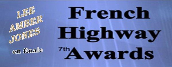 LEE AMBER JONES en finale du FRENCH HIGHWAY AWARDS votez