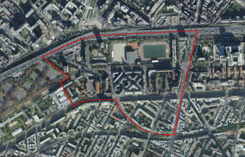 QUARTIER PRIORITAIRE : PARIS 17EME