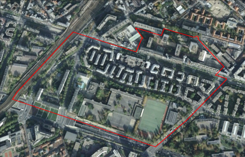 QUARTIER PRIORITAIRE : PARIS 14EME