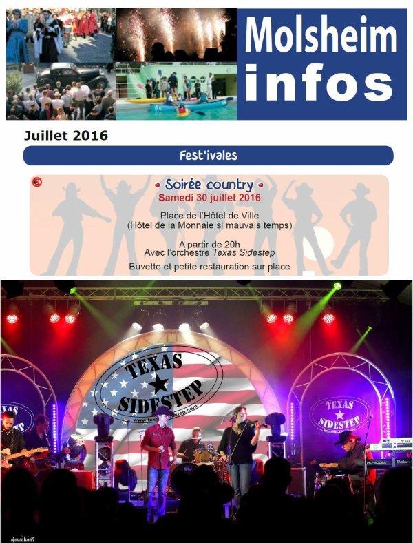 Soir�e Molsheim 30 Juillet 2016