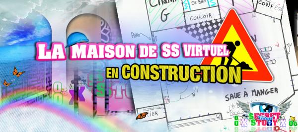 La maison de ss virtuel en construction secret story c 39 est fini - Ou se trouve la maison de secret story ...