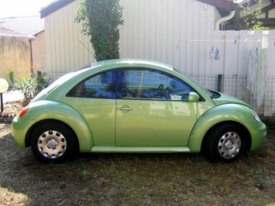 New beetle vert pomme cindy for Interieur new beetle 2000