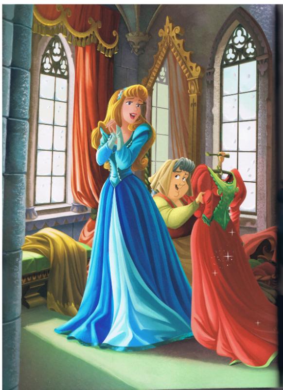Aurore robe Noël