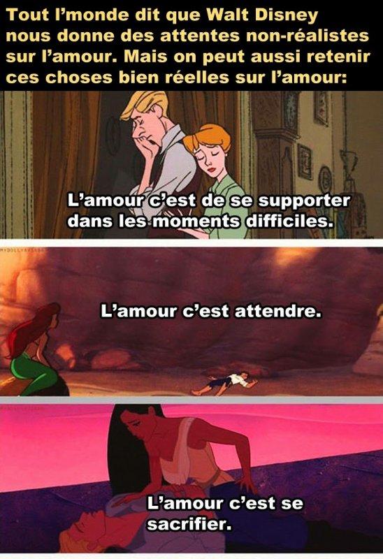 Disney amour