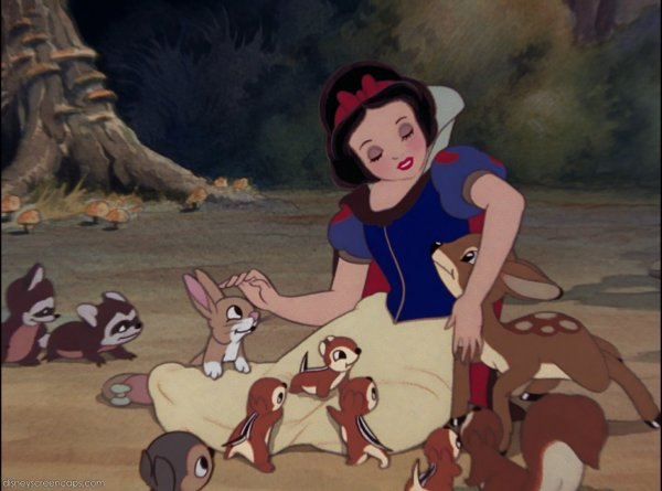 Blanche Neige animaux