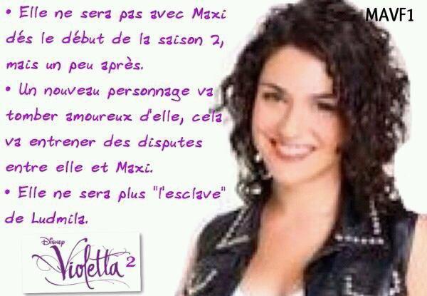 Violetta 2 entre nata maxi et camila fan martinatini stoessel - Violetta et maxi ...