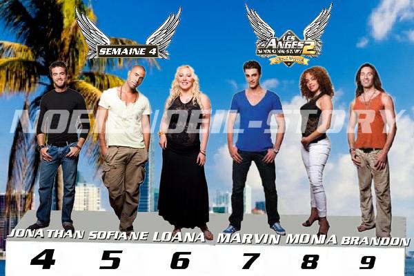 C�te de popularit� des anges (semaine 4)