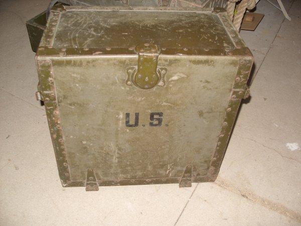 nouvelle rentr e bureau de campagne us ww2 collection d 39 objets militaire ww2. Black Bedroom Furniture Sets. Home Design Ideas