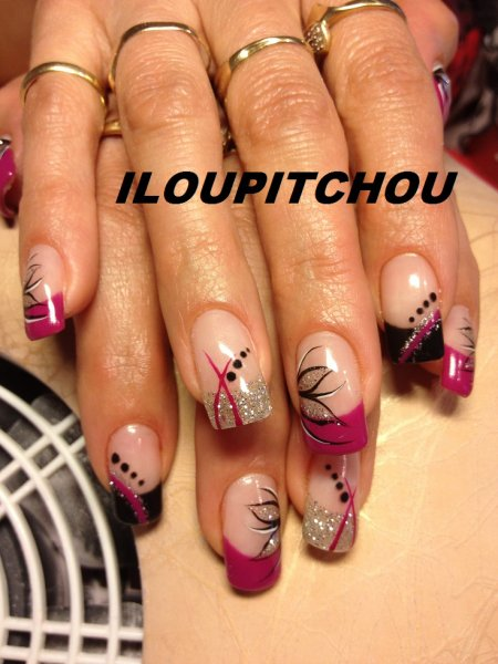 blog de iloupitchou page 28 d co d 39 ongle en gel. Black Bedroom Furniture Sets. Home Design Ideas