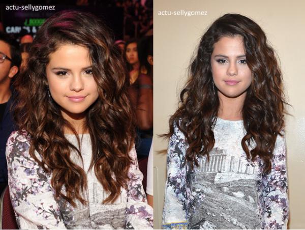 29 mars 2014 : Selena �tait aux Kid's Choice Awards 2014, � Los Angeles