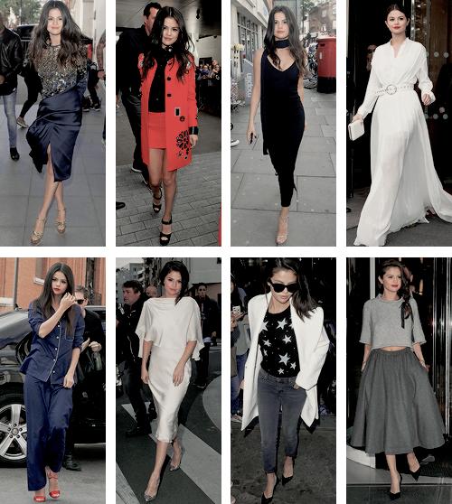 Voici les plus belles tenues de Selena en 2015