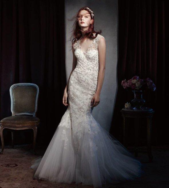 Monique Lhuillier  robes de mari�e printemps / �t� 2014