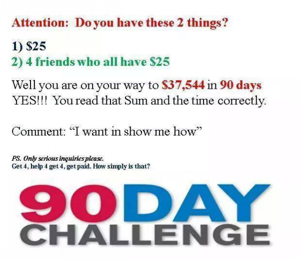 6 figure income within 90 days