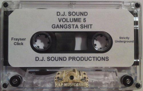 DJ Sound - Volume 5 Gangsta Shit
