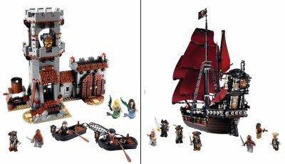 une nouvelle collection de lego pirates des cara bes. Black Bedroom Furniture Sets. Home Design Ideas