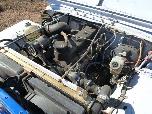 Moteur jeep willys diesel