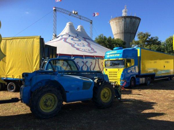 Suite du reportage num�ro 5: Cirque La piste d'or Royan juillet 2016