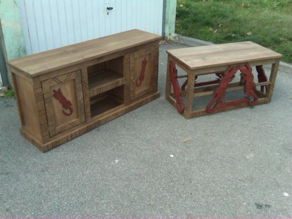 meuble tv et table basse africain blog de frederic cousin. Black Bedroom Furniture Sets. Home Design Ideas