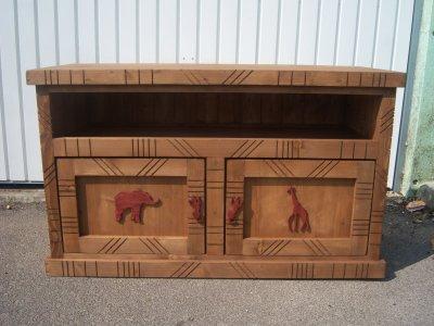 meuble tv africain blog de frederic cousin. Black Bedroom Furniture Sets. Home Design Ideas
