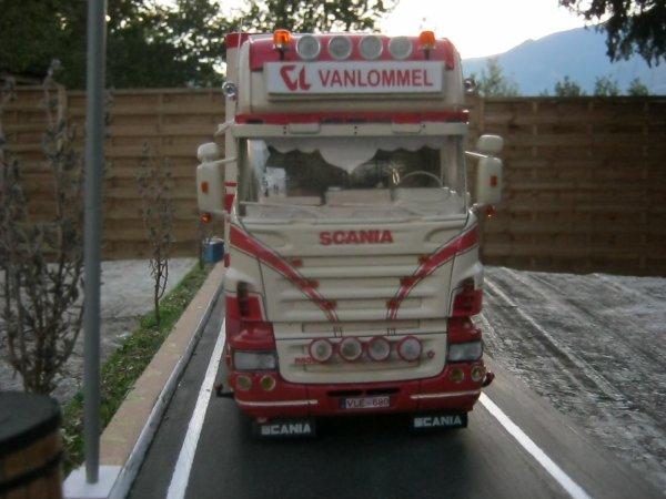 SCANIA R500 VANLOMMEL