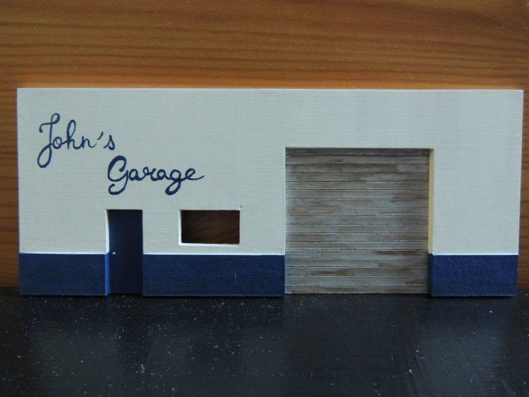Garage closed bienvenue sur mon blog dioramas 1 43 for Garage bienvenue royan