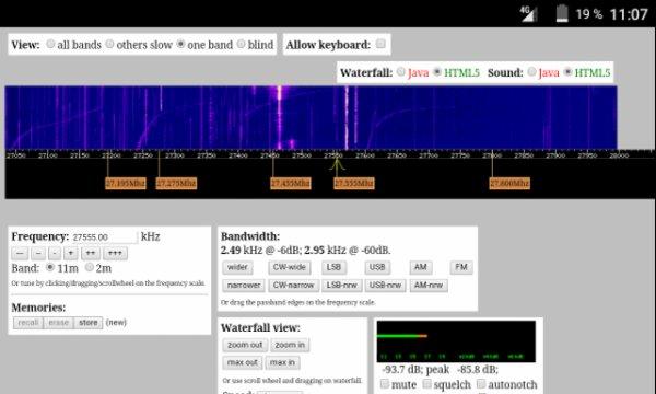 WebSDR 11m (QTH: France et dans le monde)