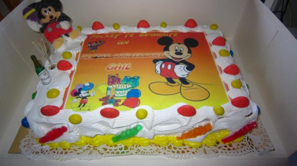 gateau anniversaire theme mickey d lice guadeloupe. Black Bedroom Furniture Sets. Home Design Ideas