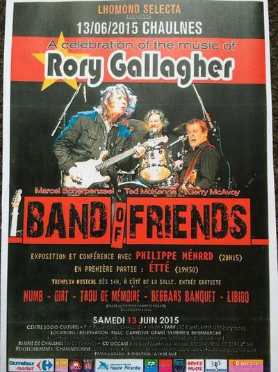 Band of Friends, 13 juin 2015, Chaulnes