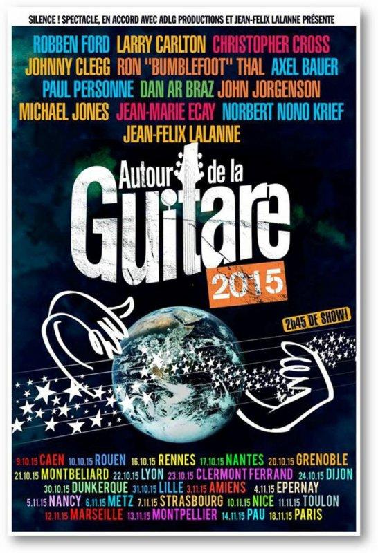 Autour de la guitare, Zenith d'Amiens, 3 Nov 2015