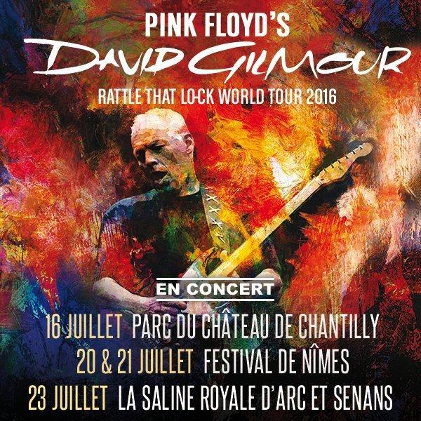 David Gilmour, Chateau de Chantilly, 16 Juillet 2016