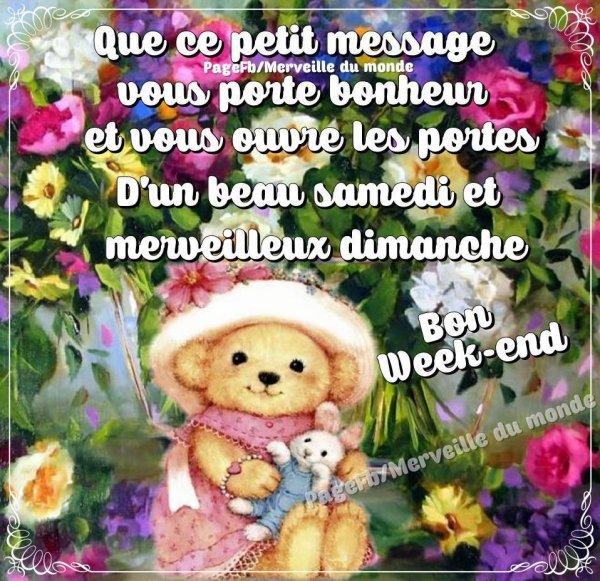 Bon week-end � tous